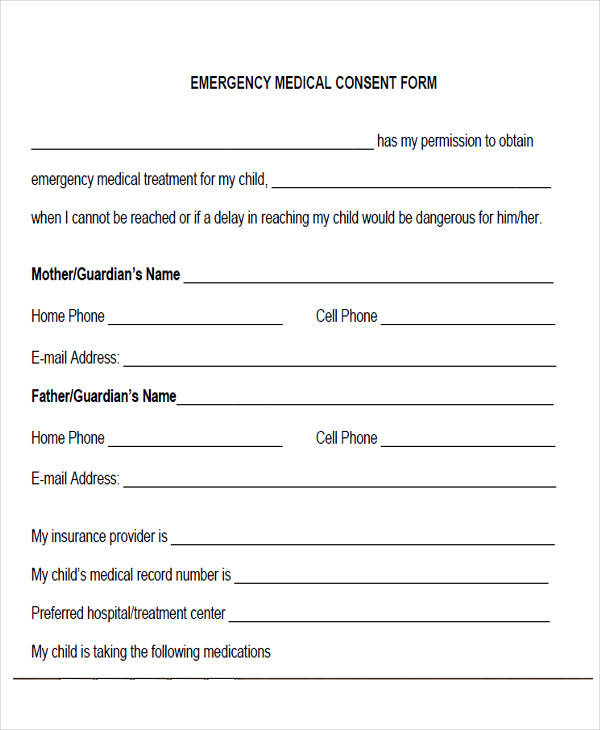 emergency medical consent form2