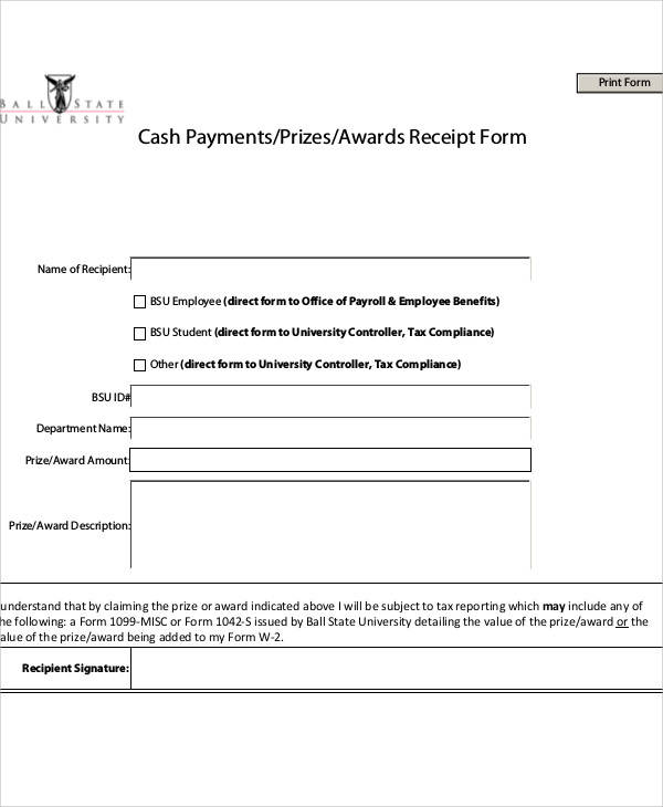 employee cash payment receipt1