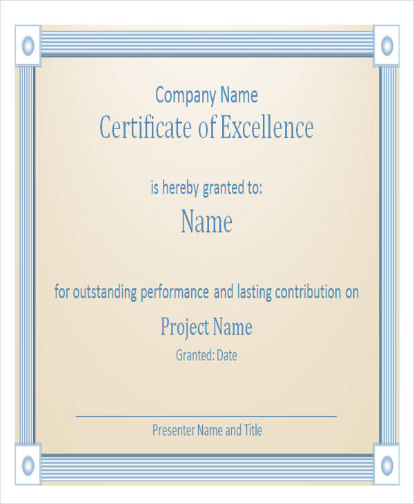 employee excellence award certificate2