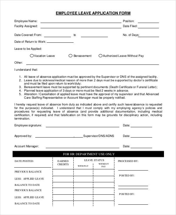 document from employer after leaving job alberta