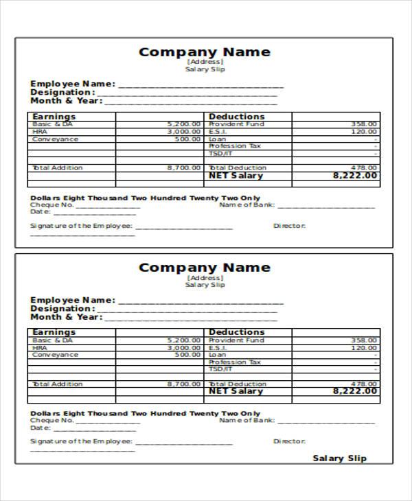 23+ Payment Receipt Formats | Sample Templates