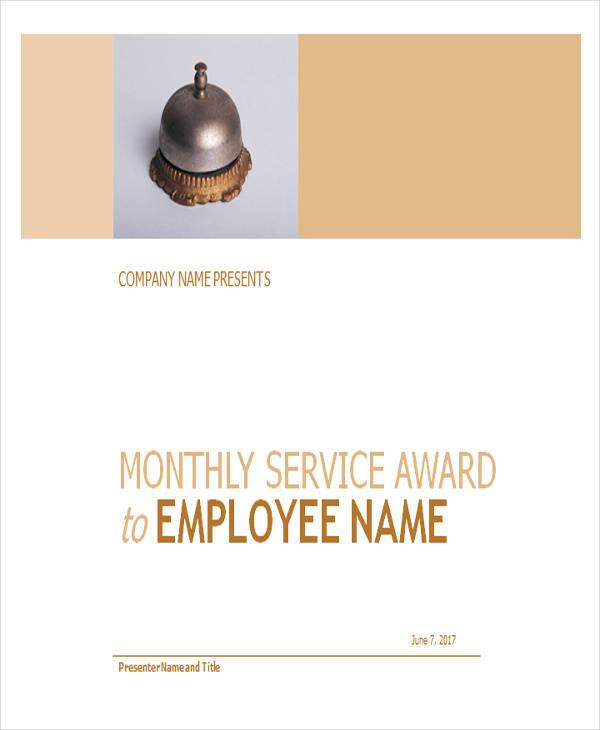 employee service award certificate1
