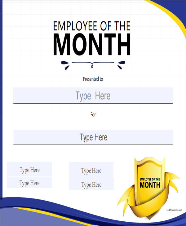 employee of the month award certificate2