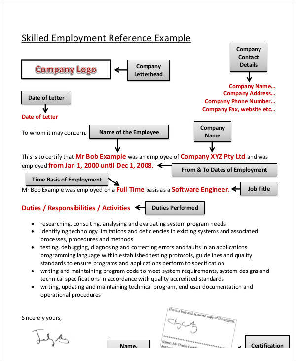 employment reference letter3