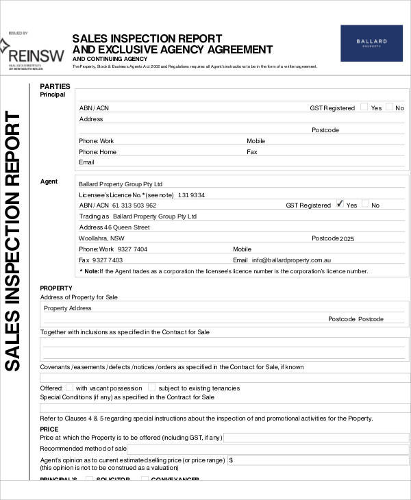 Exclusive Agency Agreement Template Mandegarfo
