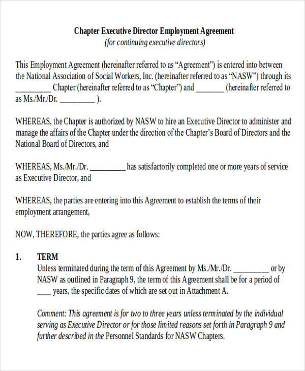 Director Contract Template 28 Images Confidentiality