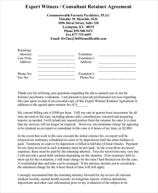18 consulting agreement forms sample templates for Consulting fee agreement template