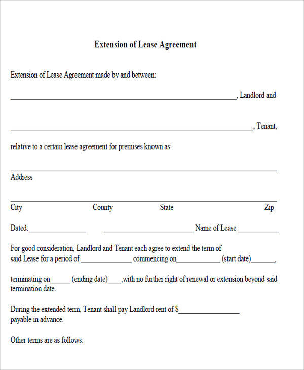 extension of lease agreement2