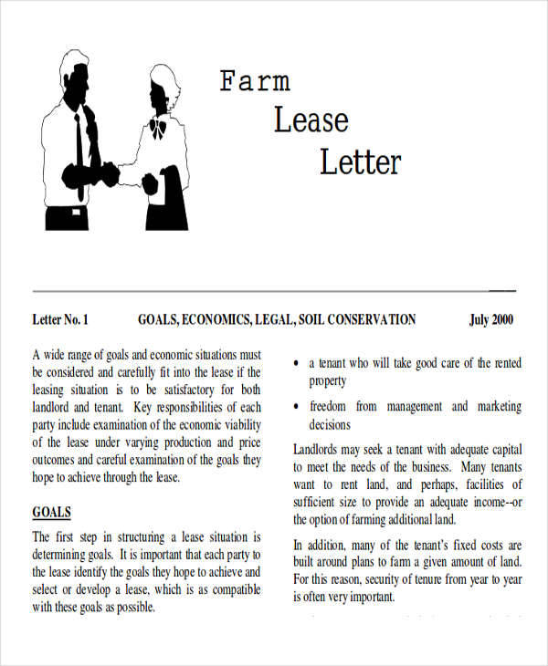 Lease Termination Letter Example  Cover Letter Leasing
