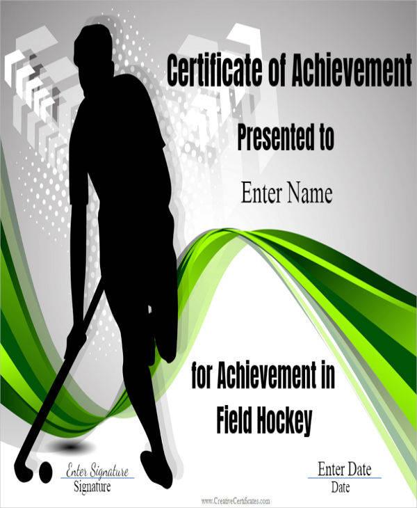 field hockey certificate1