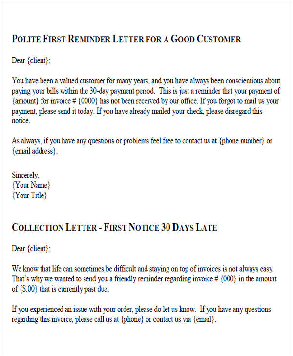 Demand Letter Samples