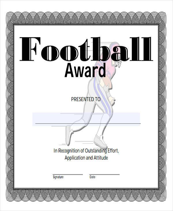 football award certificate1