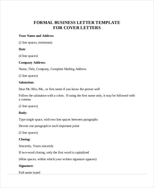 How To Address A Formal Business Letter  BesikEightyCo