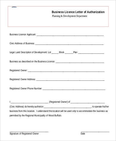 58 Authorization Letter Samples Pdf Doc