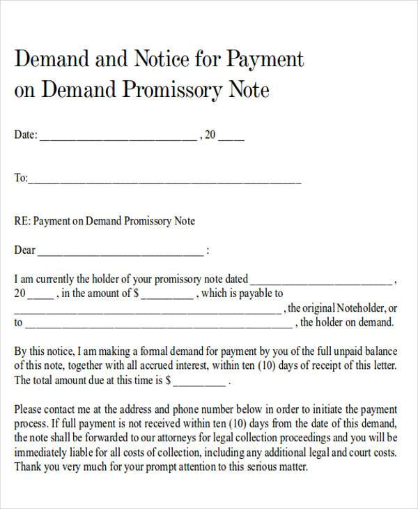 Demand Promissory Note. What Is A Demand Promissory Note? What Is