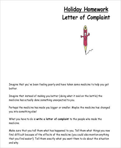 Inspiration write letter complaint against person hotelsinzanzibar formal holiday complaint spiritdancerdesigns Images