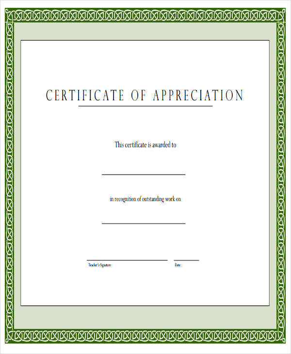 free printable appreciation award certificate1