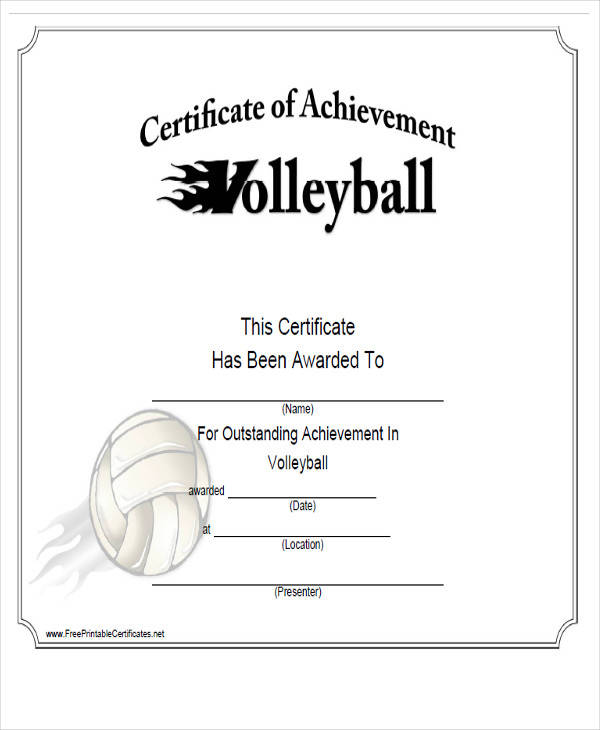 generic sports award certificate1