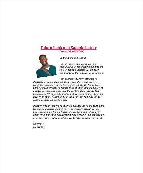 9+ Sample Graduation Thank-You Letter - Free Sample, Example