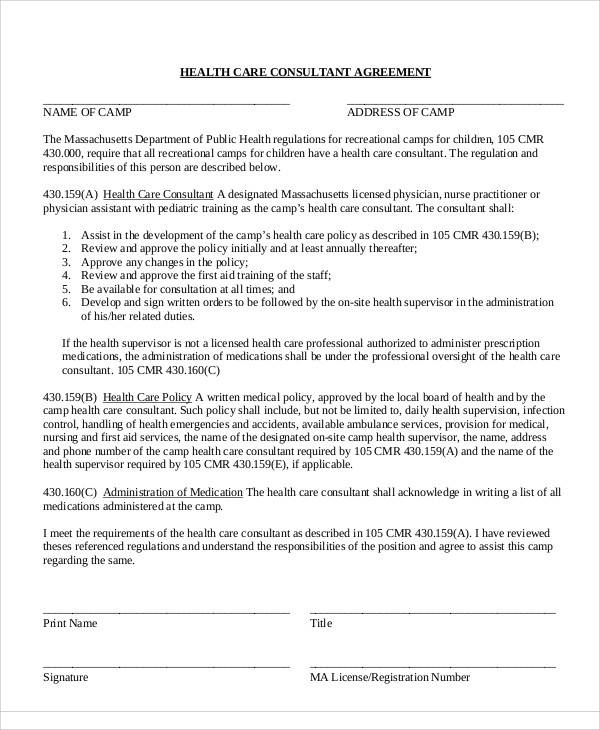 42 Consulting Agreement Samples Word Pdf