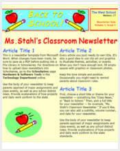 high-school-classroom-newsletter-template