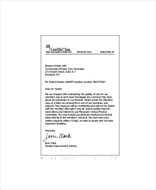 37 complaint letter samples sample templates hospital staff complaint letter thecheapjerseys Gallery