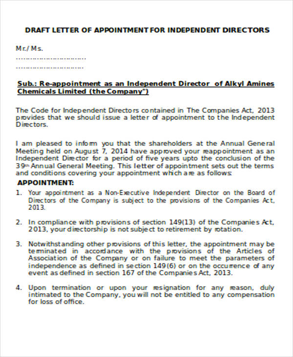 independent director appointment letter4