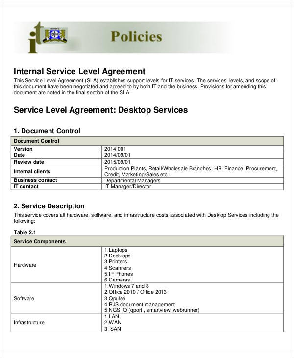 internal service level agreement2