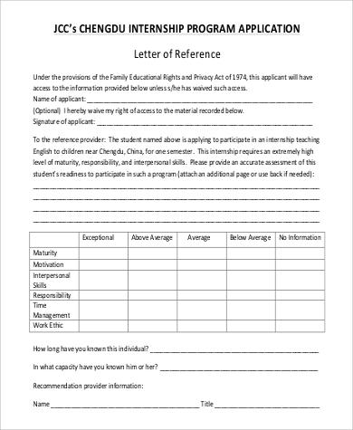 45 application letter formats sample templates internship program application letter thecheapjerseys Gallery