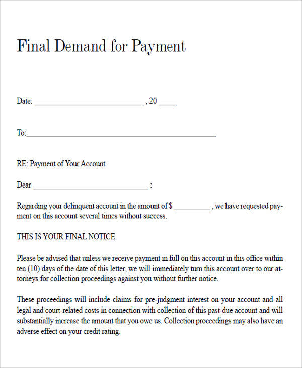 on 10 day demand letter template to return auto mobile