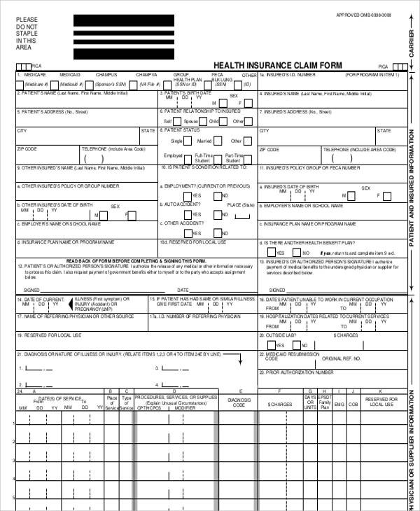 FREE 43+ Printable Medical Forms in PDF