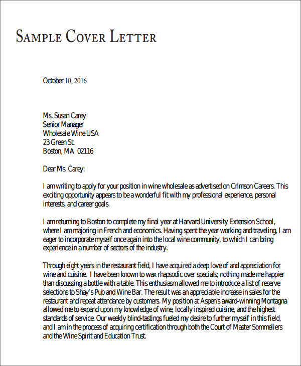 cover letter for medical school application Graduate school application cover letters: paper applications and supporting material sent via the post to graduate schools require cover letters.