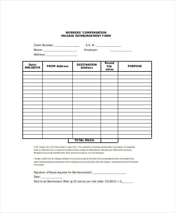 26 sample claim forms in word sample templates. Black Bedroom Furniture Sets. Home Design Ideas