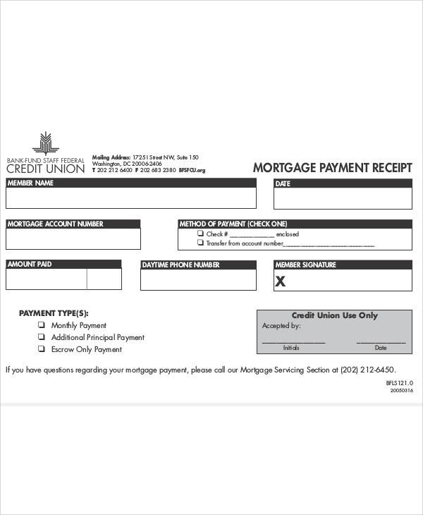 Printable Payment Receipt – Paid Receipt