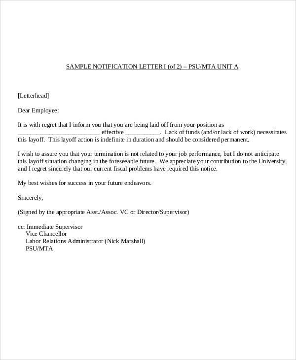 Employee Dismissal LetterDraft Resignation Letter Format Letter