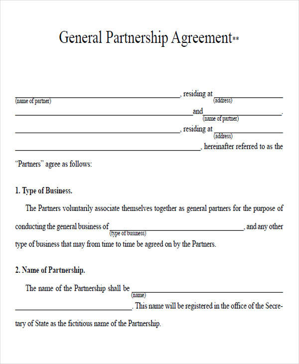 partnership agreement form pdf1