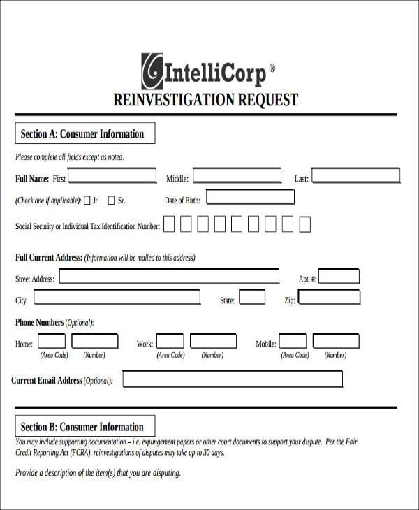 preliminary notice adverse form