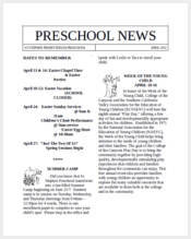 preschool-newsletter-sample-word
