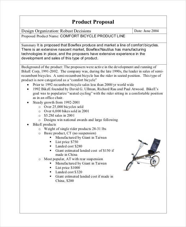 product sales proposal2