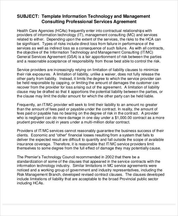 Consulting Agreement Sample