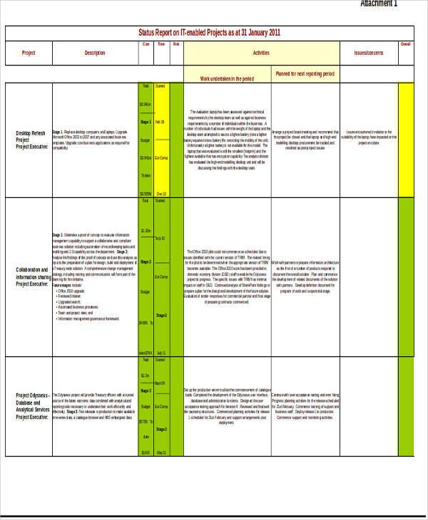 project progress report1