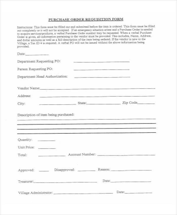 purchase order requisition form1