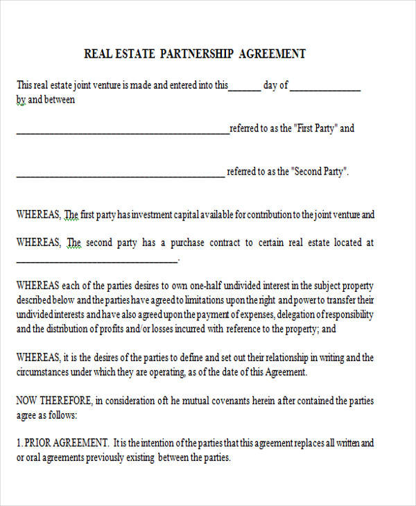 Printable Agreement Forms