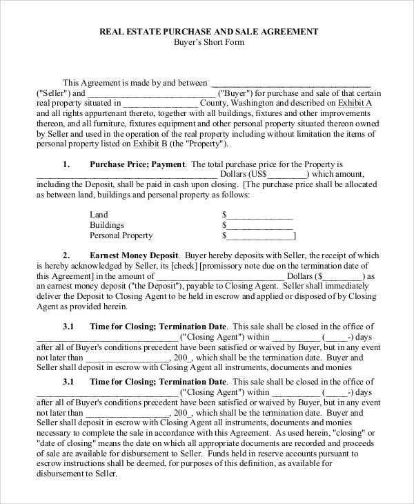 46+ Agreement Form Sample | Sample Templates