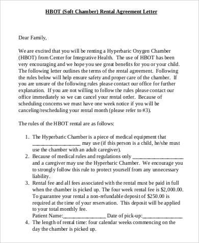 rental agreement letter1
