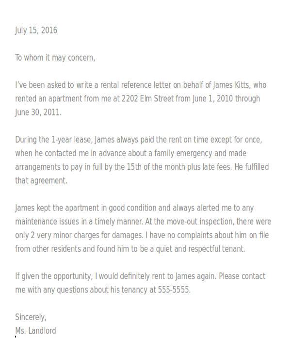 rental application reference letter1