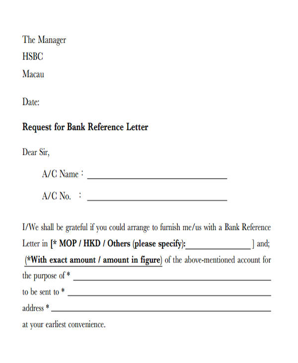request for bank reference letter1