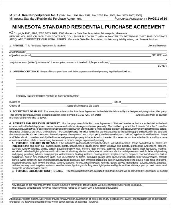 residential purchase agreement2