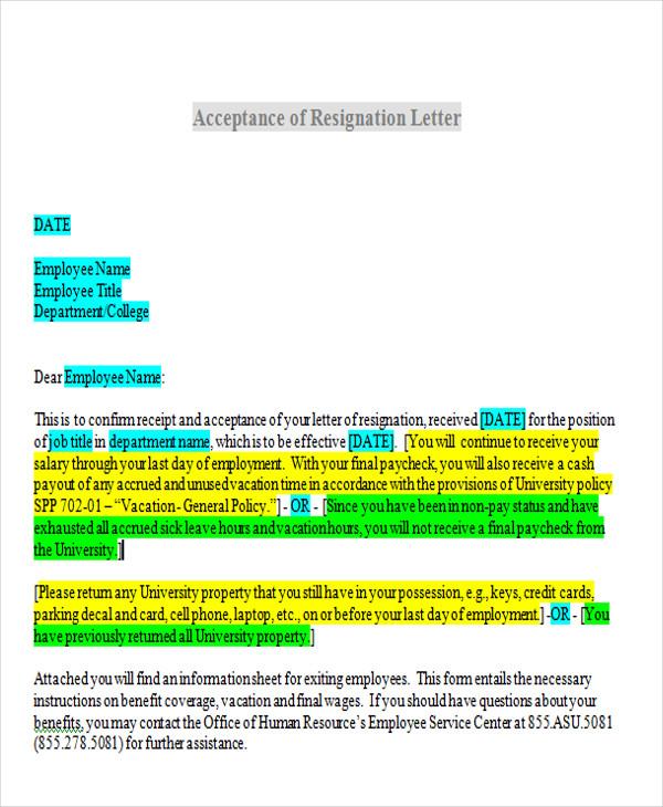 resignation acceptance letter format1