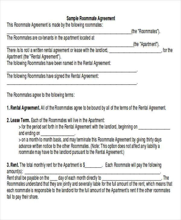 Agreement Examples